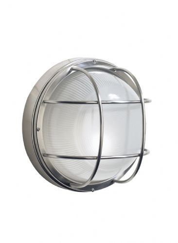 Salcombe 1-light Stainless Steel Outdoor Wall Light SAL5044 (082562)